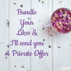 Other - Bundles your likes 😍for a Private Offer!